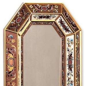 Octagon wall mirror art deco